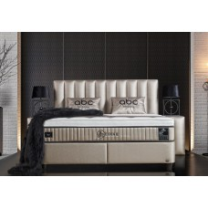Storage bed, Storage Boxspring Leonar