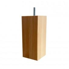Loose Wooden Boxspring Legs set oakwood 15 cm 6x