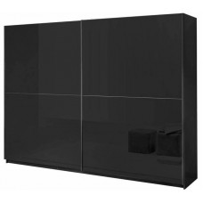 Kenzo Sliding door wardrobe Zino High gloss Black