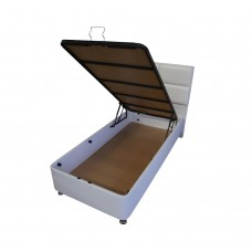 Complete single box spring with Cold foam HR45 mattress