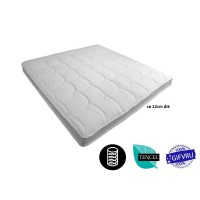 Tencel Topper XXL Cold foam HR55 12 cm Thick