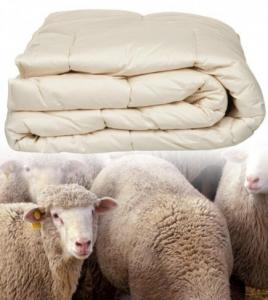 Duvet Sheep's wool 4-seasons