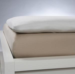 Fitted sheet Topper smooth cotton